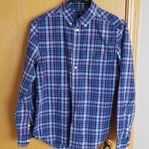 Boy's Ralph Lauren l/s button down... Large
